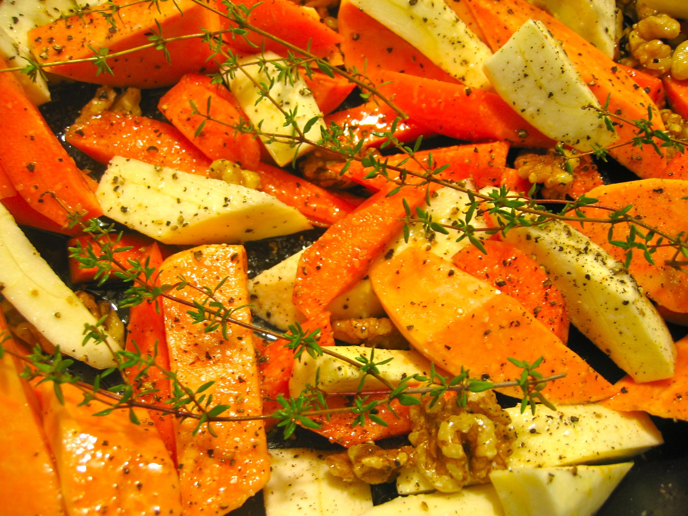 Honey-roasted Vegetables « Eye for a Recipe