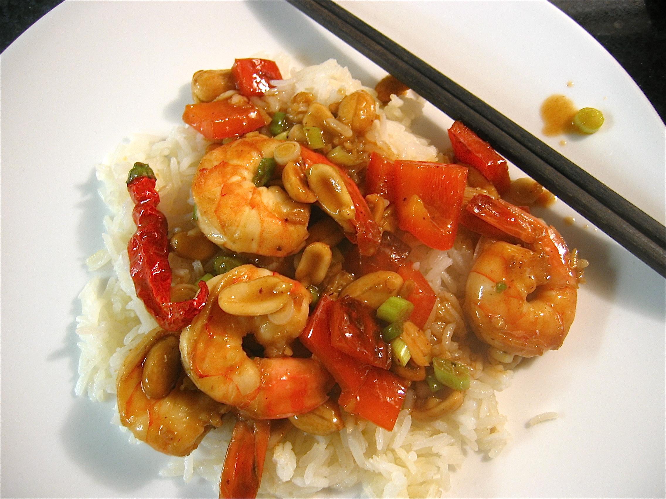 Kung Pao Shrimp « Eye for a Recipe