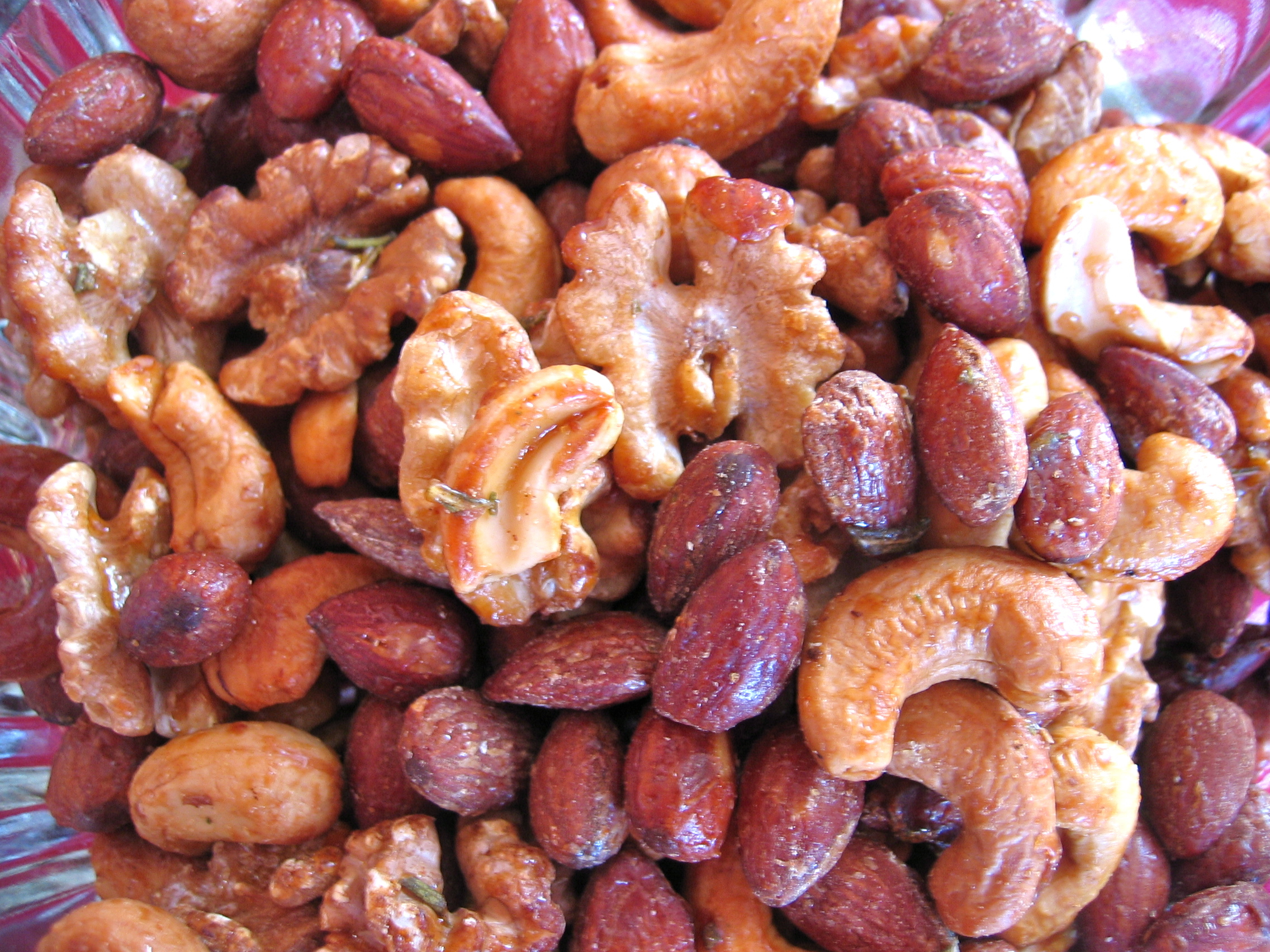 Honey-Glazed Walnuts Recipe — Dishmaps