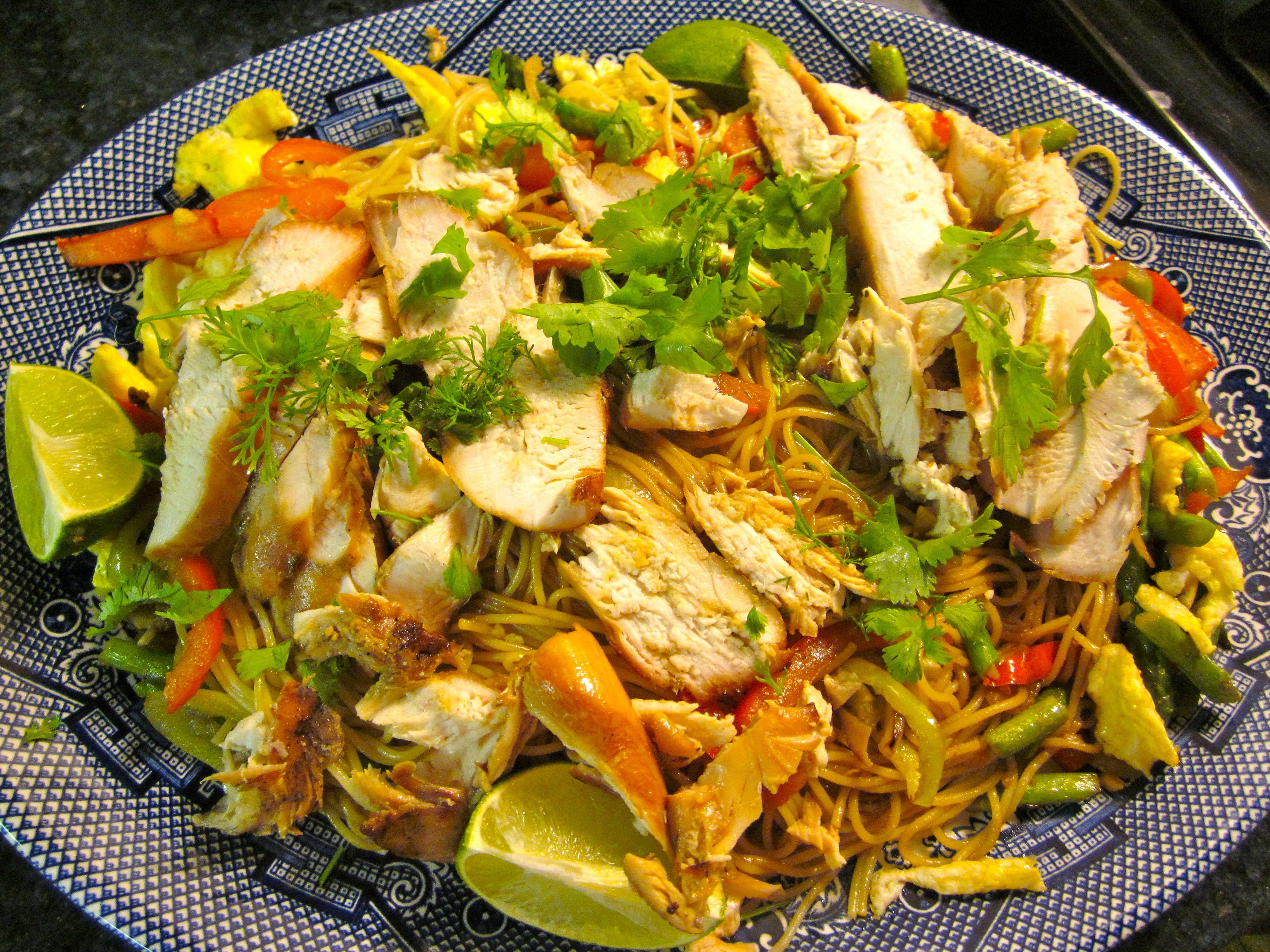 how to make noodles singapore