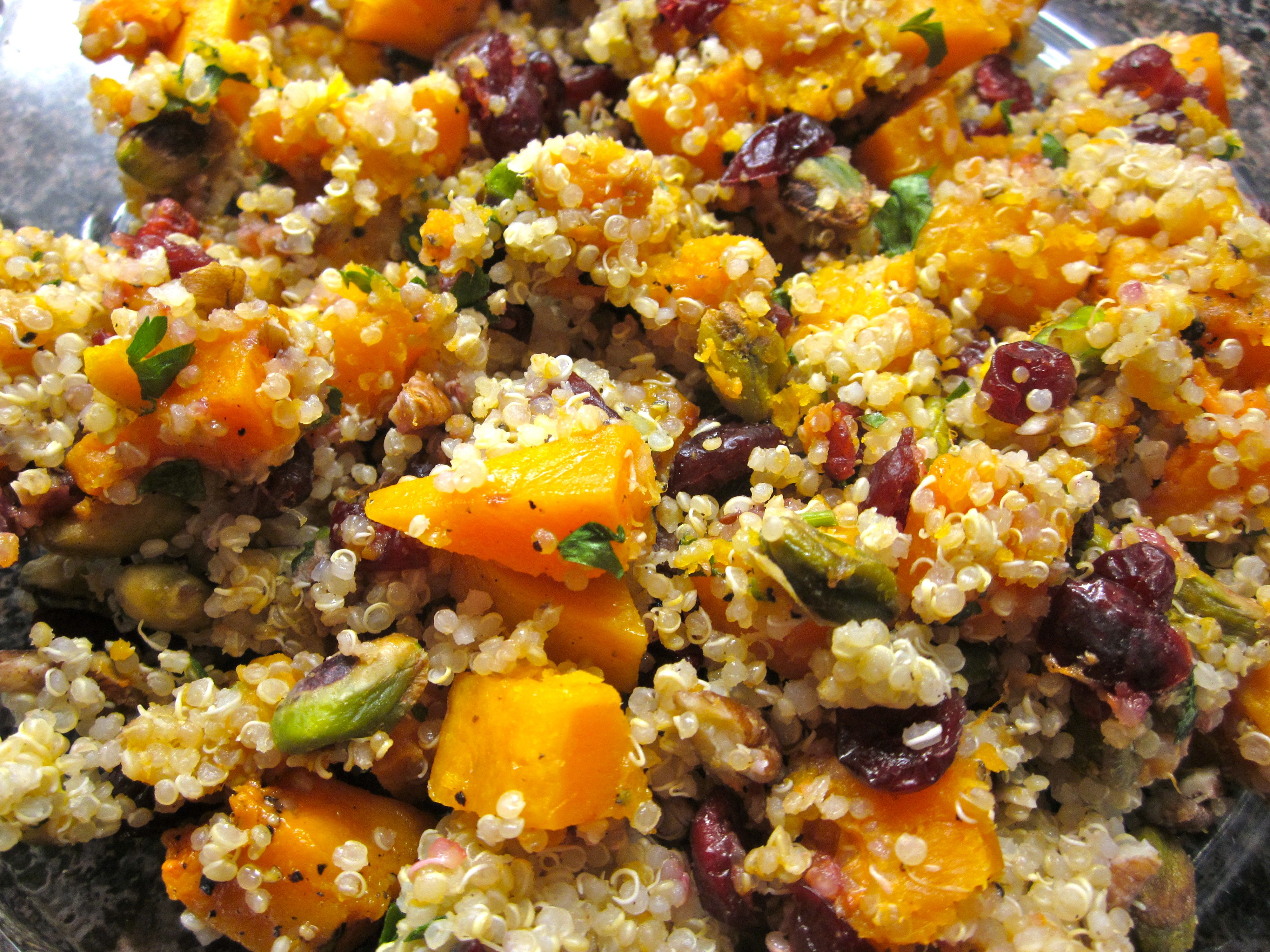Cranberry Pecan Quinoa Pilaf « Eye for a Recipe