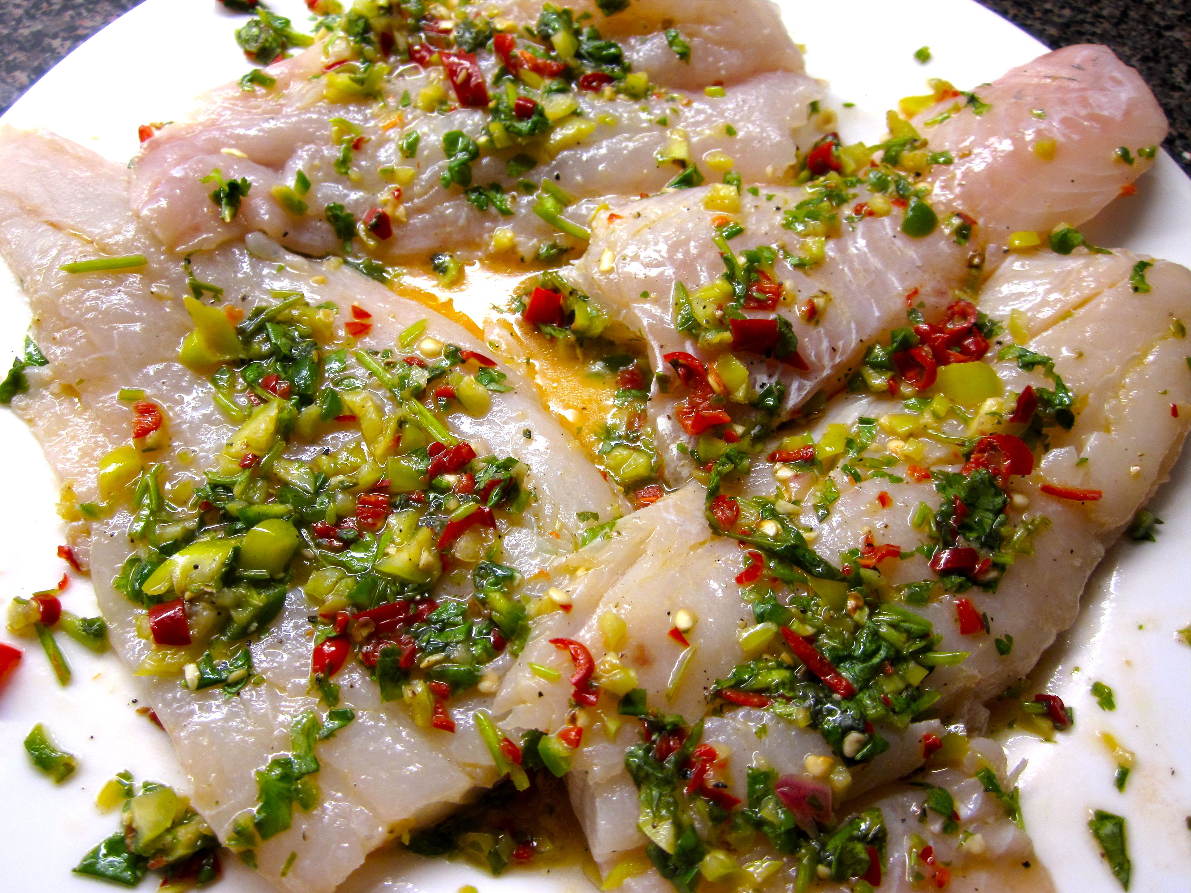 Bill s fish eye for a recipe for Marinade for fish