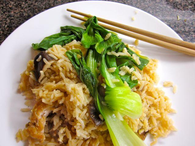 Asian rice pot