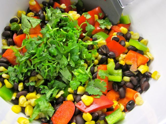 Corn and Black Bean Salad « Eye for a Recipe
